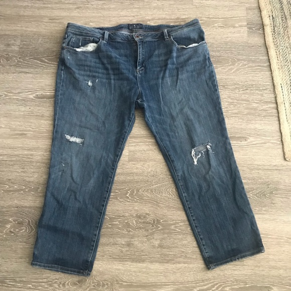 837faee610d Lucky brand Reese boyfriend jeans plus size